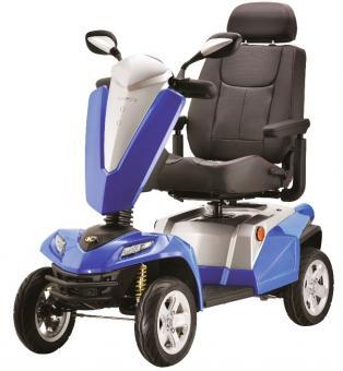 KYMCO E-Vierradroller MAXER 20 km/h Blau