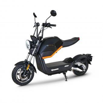 MIKU MAX by ECONELO Elektro-Roller 45 km/h schwarz