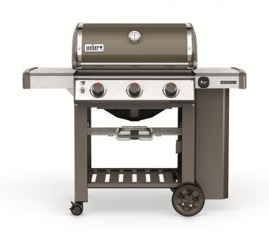 Weber Gasgrill Genesis II E-310 GBS, Smoke Grey