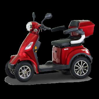 ECONELO E-Vierradroller J4000R Rot