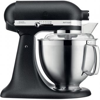 KITCHENAID Küchenmaschine ARTISAN 185 Gusseisen Schwarz 300 Watt