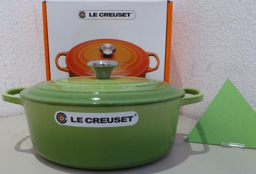 Le Creuset Bräter, Signature 27 cm oval Palm Induktion