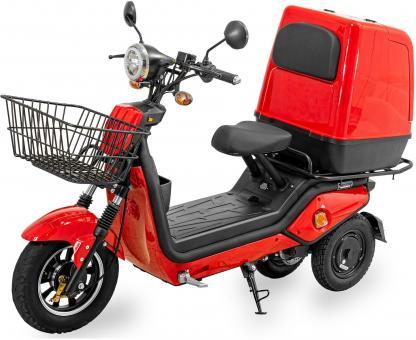 ECONELO Elektro-Roller CARGO 45 km/h Rot