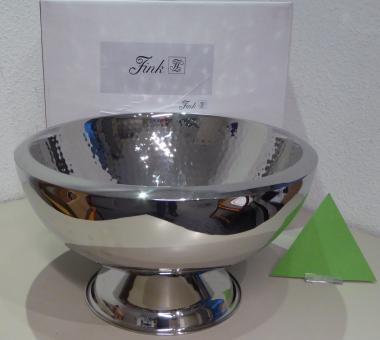 Fink Sektkühler/Punchbowl KALAS, Edelstahl gehämmert