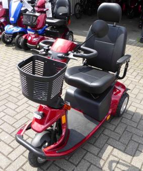 LEBENSFREUDE 3-Rad-Elektro-Scooter M83 Rot