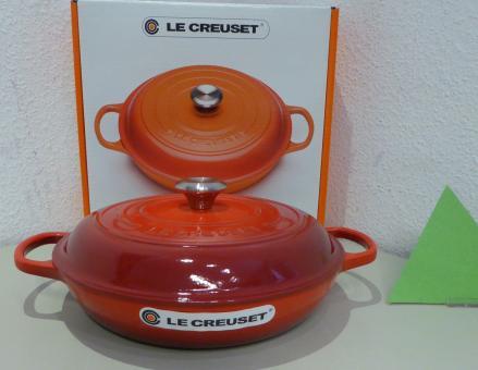 Le Creuset Gourmet Profitopf, Signature 30 cm Kirschrot Induktion