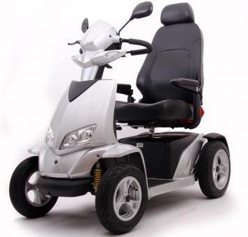 MERITS E-Vierradroller WESTERLAND 15 km/h Silber