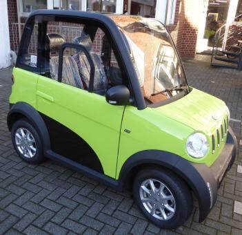 MICAN Elektro-Auto 45 km/h 3,5 kW Grün