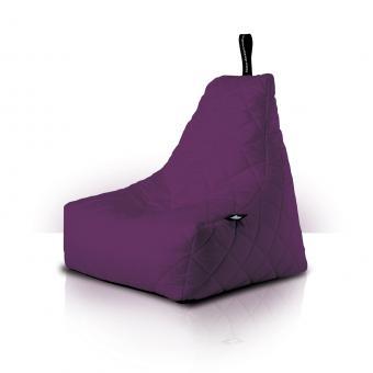 B-bag mighty-b Indoor/Outdoor Sitzsack gesteppt quilted Purple