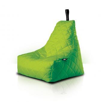 B-bag mighty-b Indoor/Outdoor Sitzsack gesteppt quilted Lime
