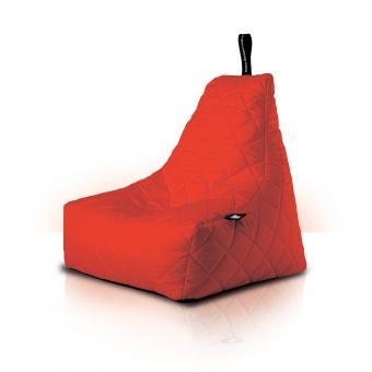 B-bag mighty-b Indoor/Outdoor Sitzsack gesteppt quilted Red
