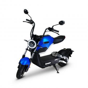 MIKU MAX by ECONELO Elektro-Roller 45 km/h Blau