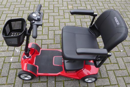 PRIDE GOGO Ultra X 4-Rad Mobil S49 Elektro-Scooter Rot