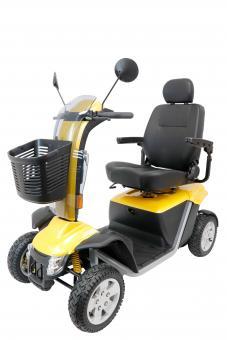 PRIDE Elektro-Scooter Victory XL 140 LCD 15 km/h Gelb