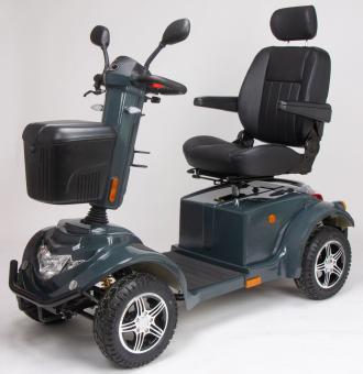 VINTAGE MOBILITY Elektro Vierradroller GRÖNLAND 100 Ah 15 km/h Scooter Anthrazit