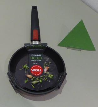 WOLL Bratpfanne 20 cm Nowo Titanium Induktion