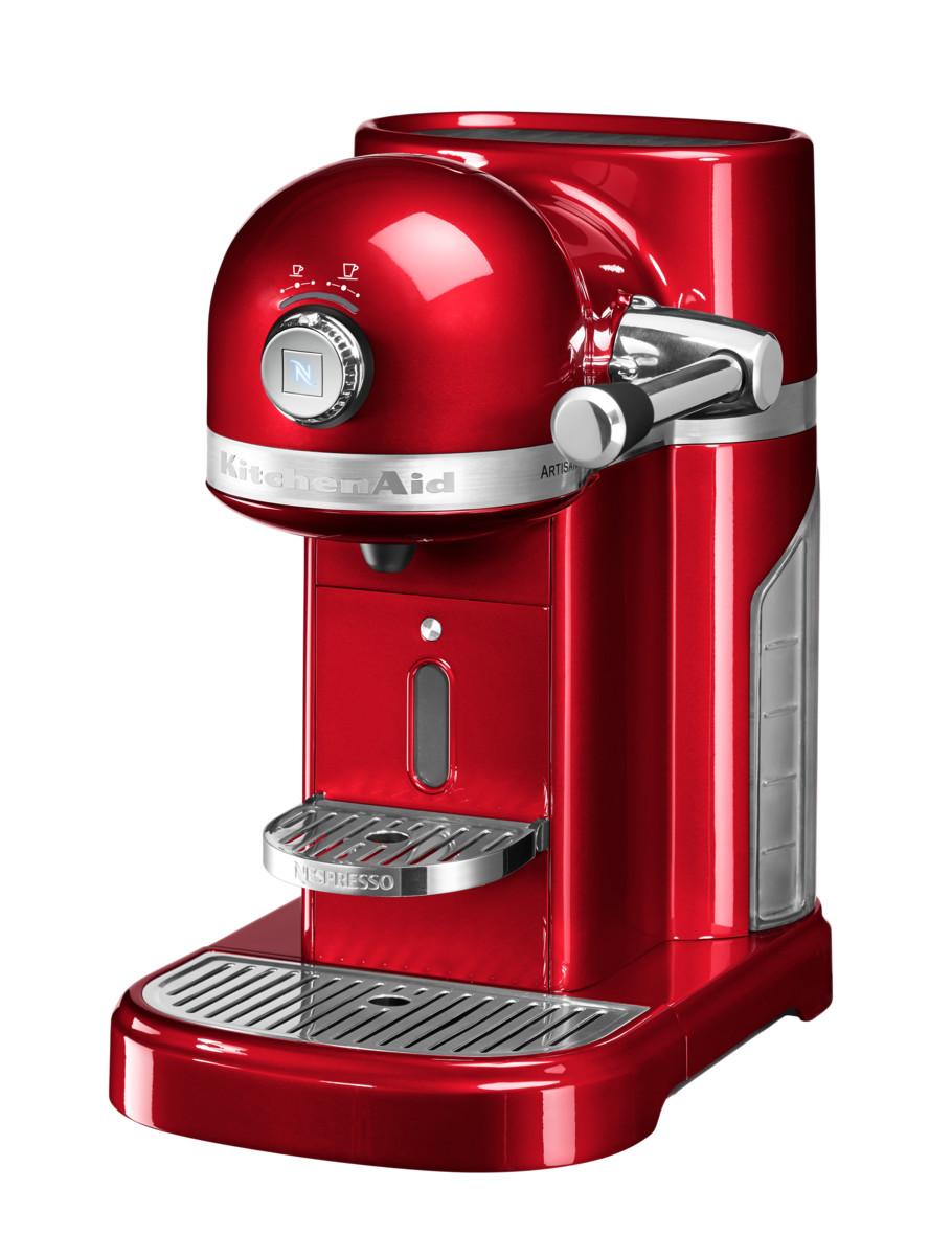 KitchenAid Artisan Nespressomaschine Liebesapfelrot