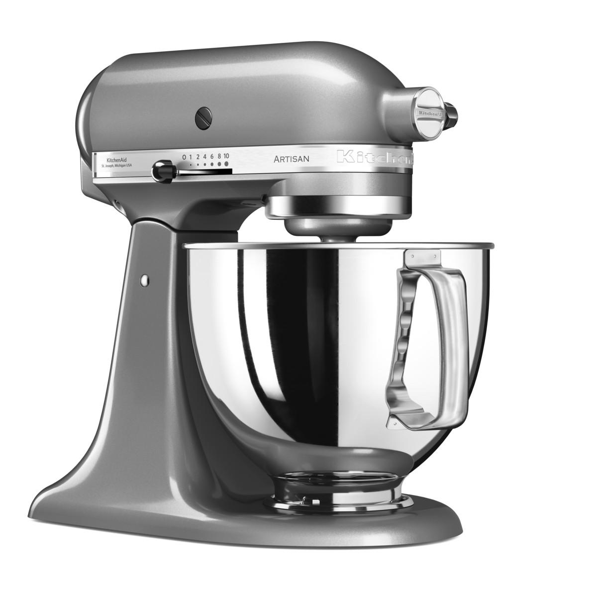 KitchenAid Küchenmaschine Artisan Contur-Silber