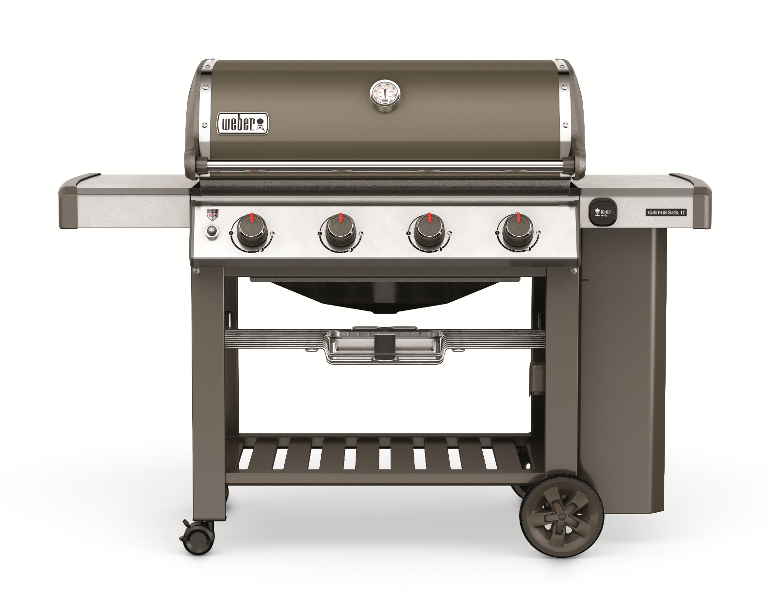 Weber Gasgrill Genesis II E-410 GBS, Smoke Grey