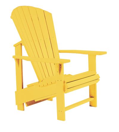 Muskoka Stuhl Adirondack CB03 Upright gelb