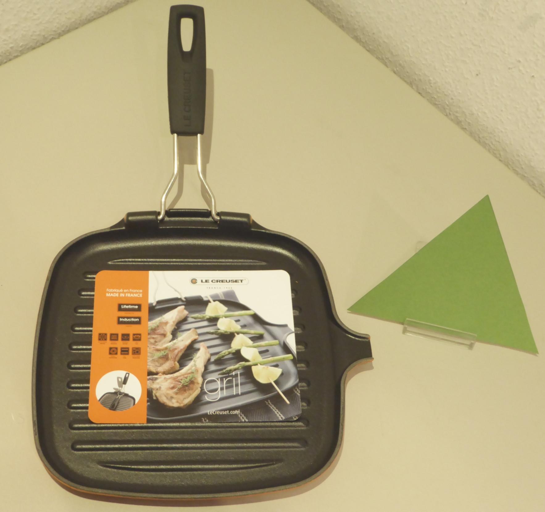 homann schenken kochen wohnen le creuset grillpfanne quadratisch ofenrot induktion 24x24 cm. Black Bedroom Furniture Sets. Home Design Ideas