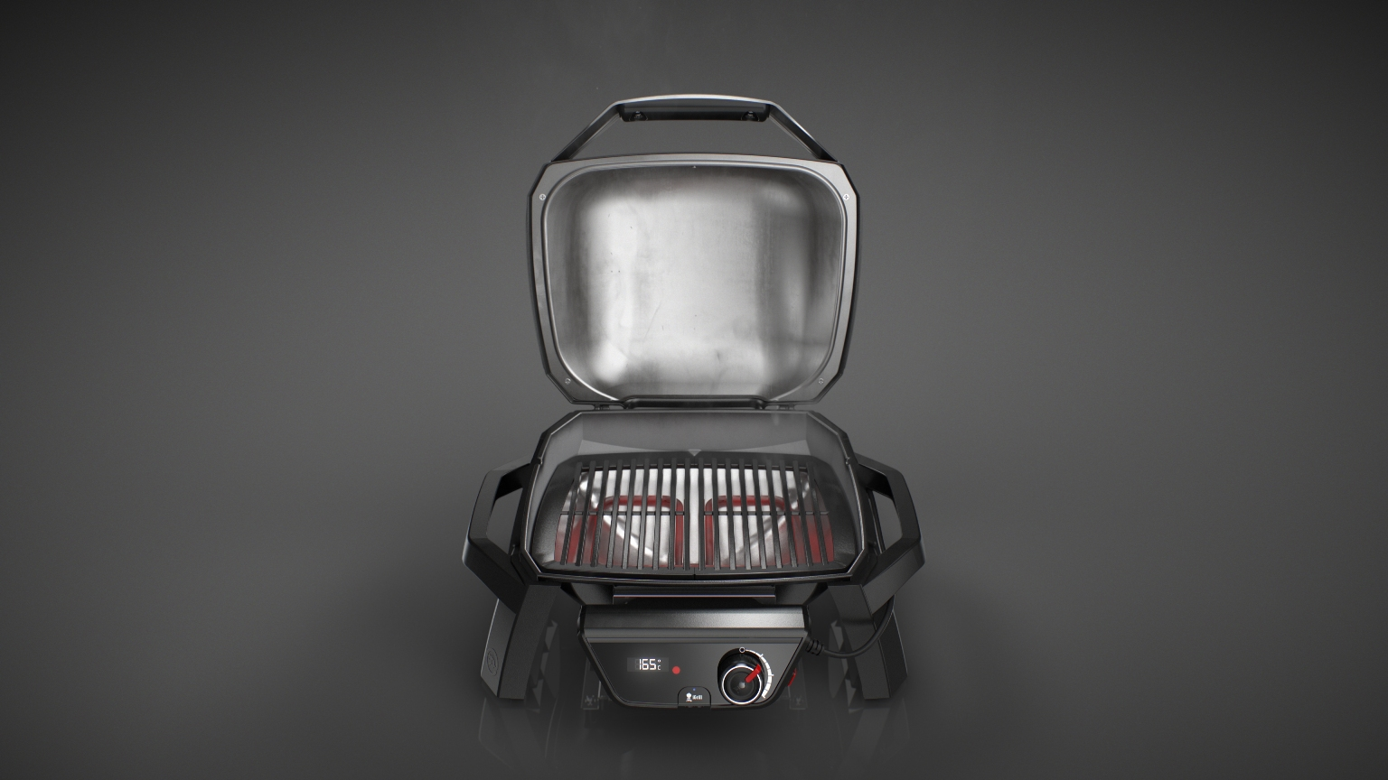 Weber Elektrogrill Hitze : Oxid surf and kite shop weber elektrogrill q 1400 stand dark grey