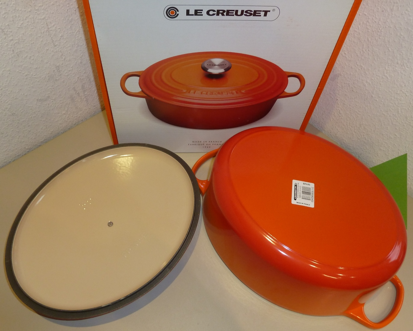 homann schenken kochen wohnen le creuset br ter signature 35 cm oval ofenrot induktion. Black Bedroom Furniture Sets. Home Design Ideas