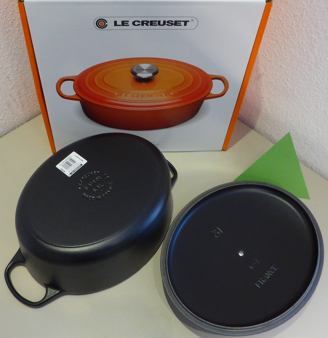 homann schenken kochen wohnen le creuset br ter signature 31 cm oval schwarz induktion. Black Bedroom Furniture Sets. Home Design Ideas